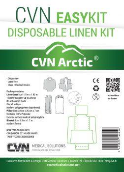 CVN Arctic Easy Kit -liinavaatesetti