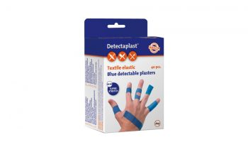 Detectaplast-laastarit / kuluttajapakkaukset, Textile elastic (sininen)