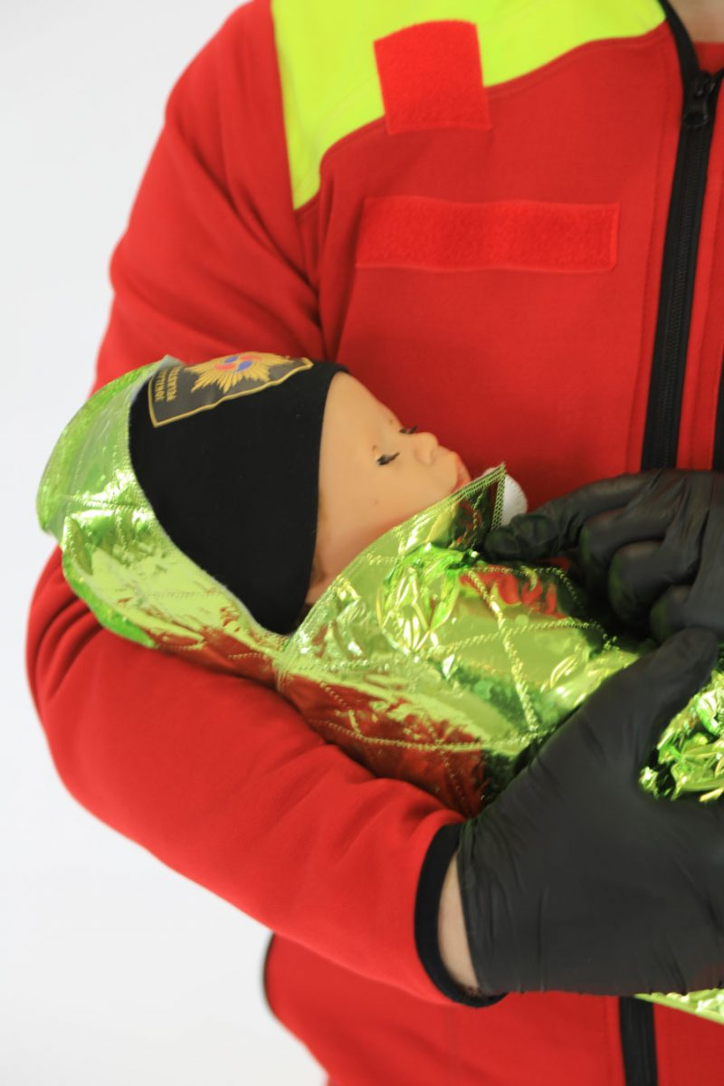 CVN Arctic Baby Wrap