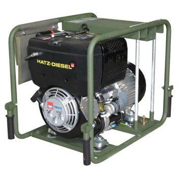 Poweri MIL 09 PVM4001 DHZ IP54 -sähköaggregaatti