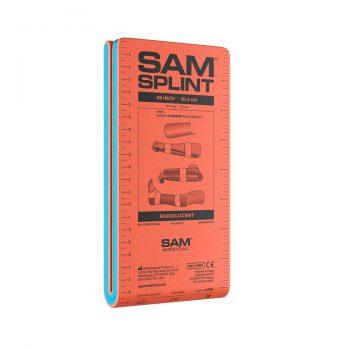 SAM Splint Oranssi / Sininen 36 Folded