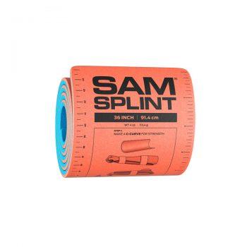 SAM Splint Oranssi / Sininen 36 Rolled