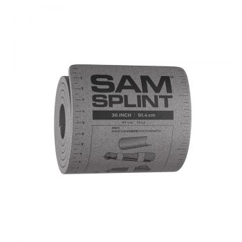 SAM Splint Harmaa 36 Rolled