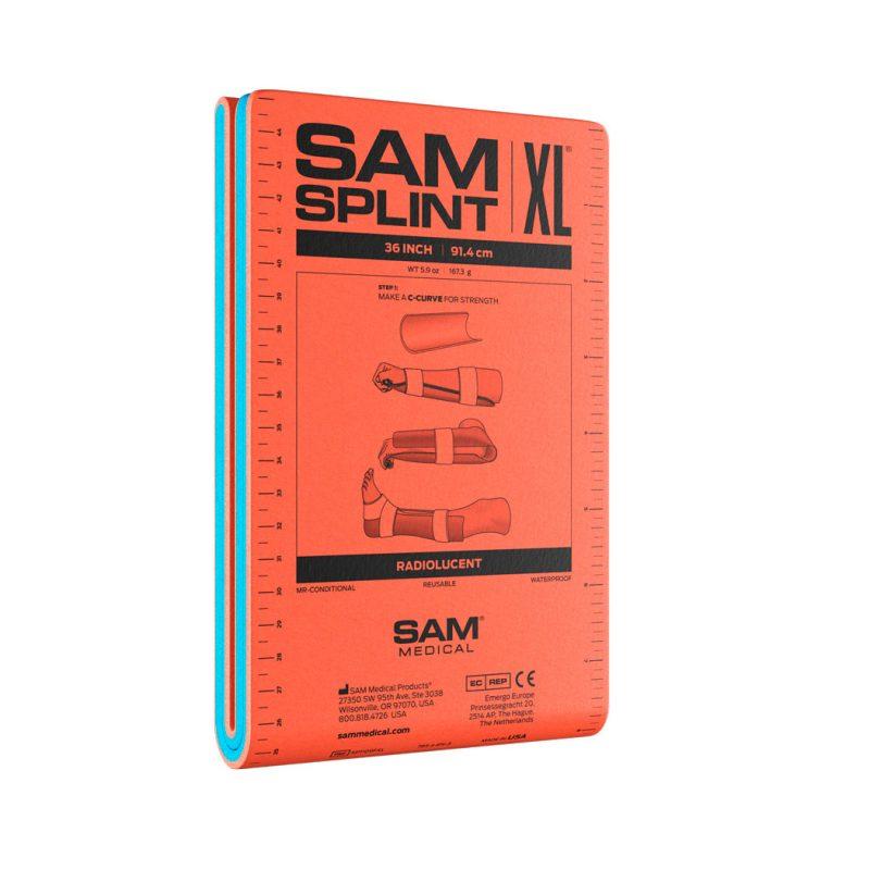 SAM Splint Oranssi / Sininen 36 XL