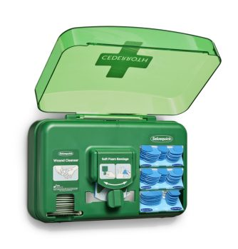 Cederroth Blue -haavanhoitoautomaatti