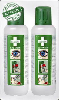 Cederroth-silmänhuuhtelupullo 2 x 500 ml
