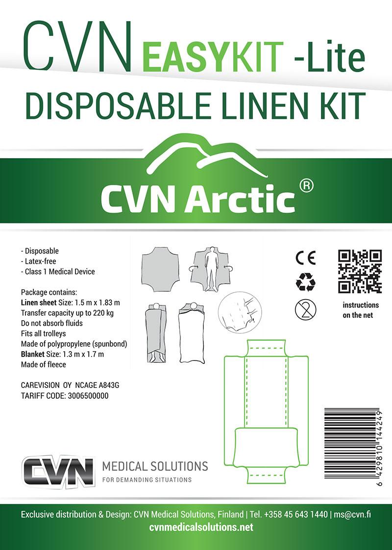 CVN Easy KIT Lite -liinavaatesetti