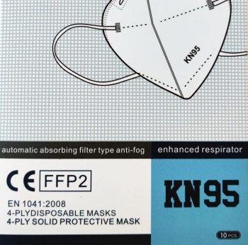 CE-merkitty hengityssuojain FFP2