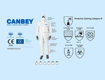 Canbey Coverall -suojahaalari